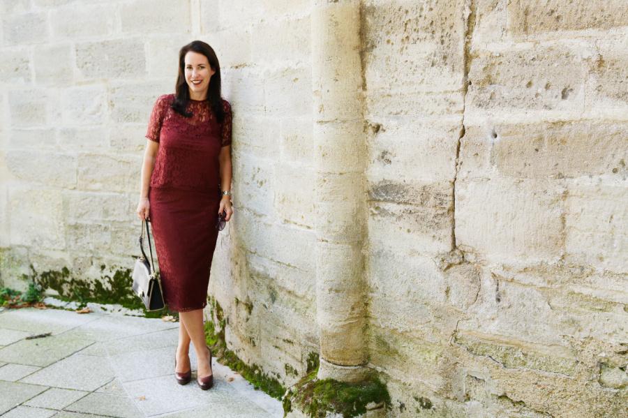 Bordeaux Und Spitze 2 Herbsttrends Die Ich Mag