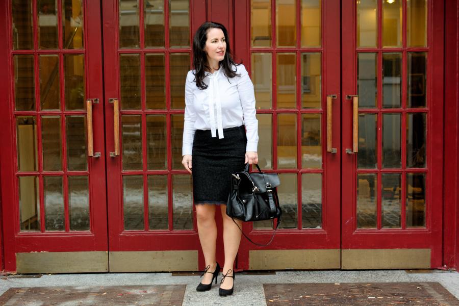 Black & White im Job – eine gute Kombination <3