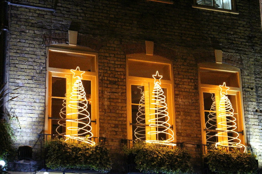 Christmas Lights … London Love <3
