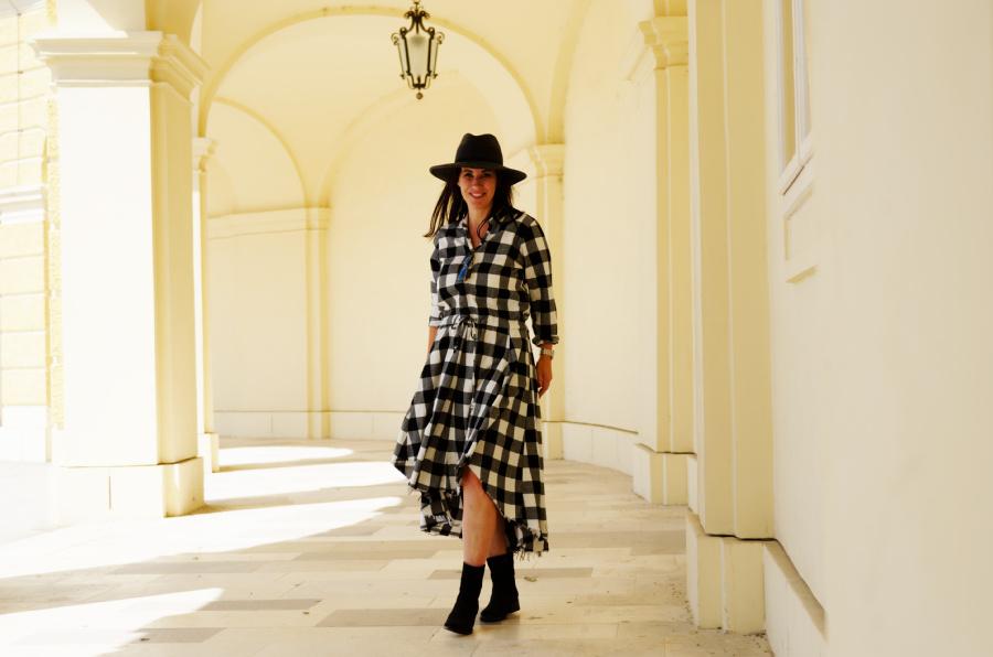 Mein Boho Style für kalte Tage – Lieblingskleid im Casual Look