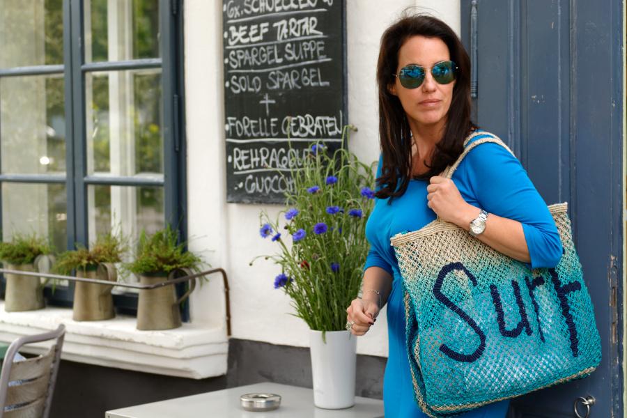 Meine Strandtasche <3 - vom Business- zum Freizeitoutfit