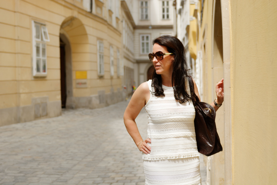 Summer Whites – mein Business Outfit von Marc Cain (Sale)